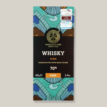 Chocolate Tree Whisky 70% dark 40g reep