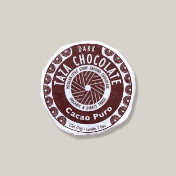 Taza disc cacao puro 70% dark 77gr