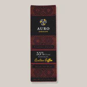 Auro pure chocolade met arabica koffie