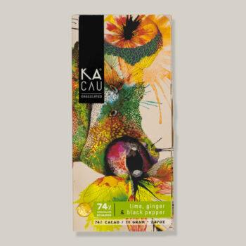 Kacua puur met limoen, gember en zwarte peper